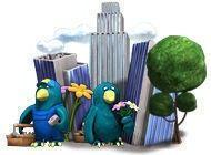 Пластилиновый город
