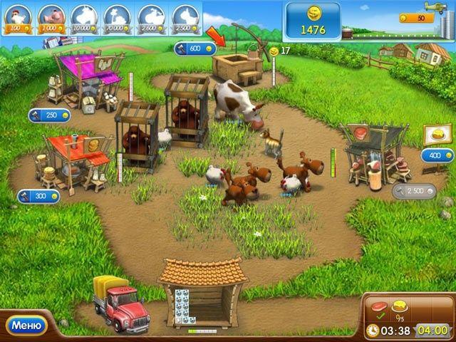 Веселая ферма 2 - Screenshot 1/7