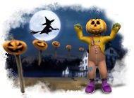 halloween night logo